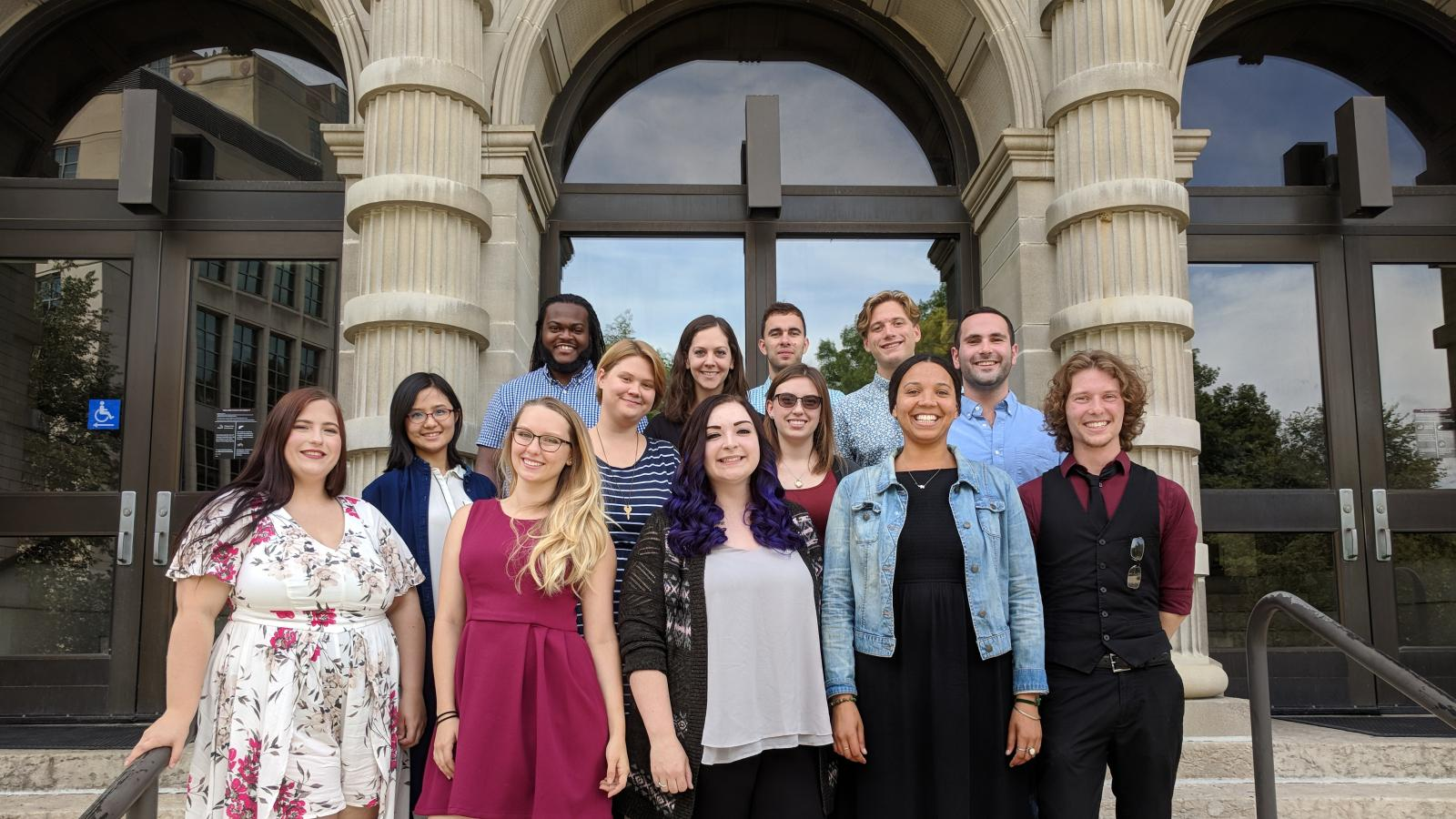 Photo of the 2018 incoming graduate students
