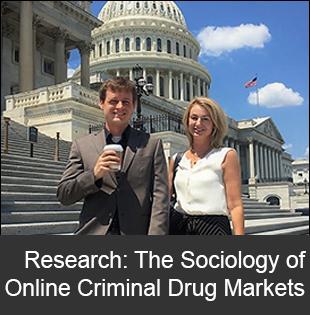 Graduate Student Scott Duxbury and Professor Dana Haynie on Capital Hill