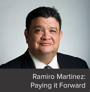Ramiro Martinez Paying it Forward