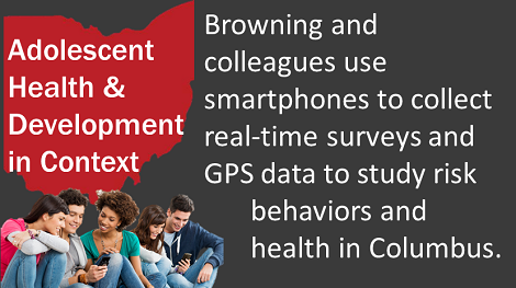 Browning study on using smartphones to collect real time data