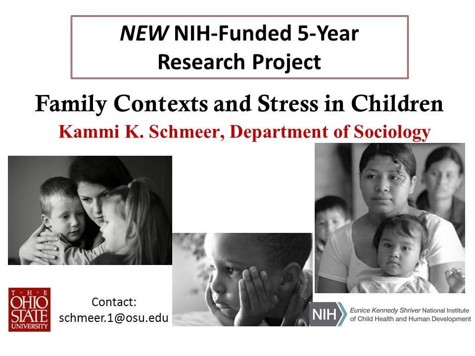 Kammi Schmeer research 5 year funding