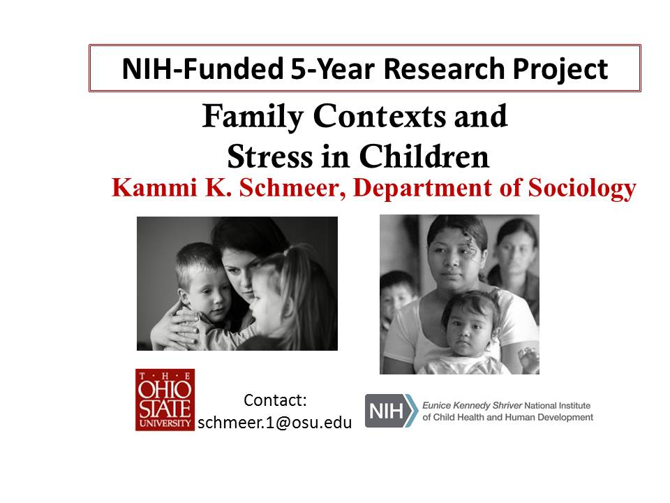 Kammi Schmeer awarded 5 years of research funding