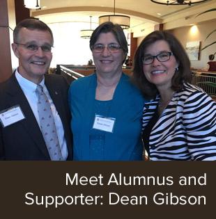 Meet Alumnus and Supporter: Dean Gibson