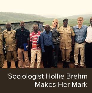 Sociologist Hollie Brehm Makes Her Mark